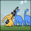 Dinosaurs and Meteors game online
